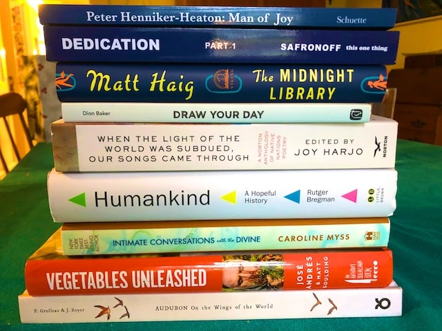 Books We Got for Christmas 2020