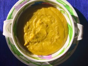 Vegan Split Pea Soup (recipe)