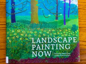 Landscape Painting Now (Book Review with Painting Photos)