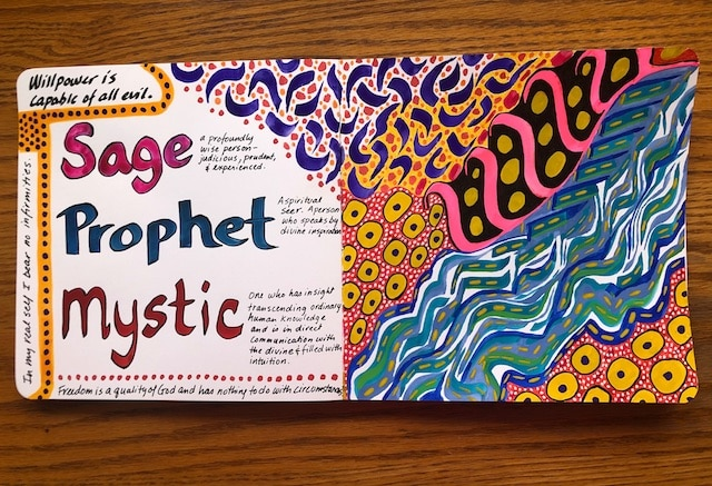 artist journal pages