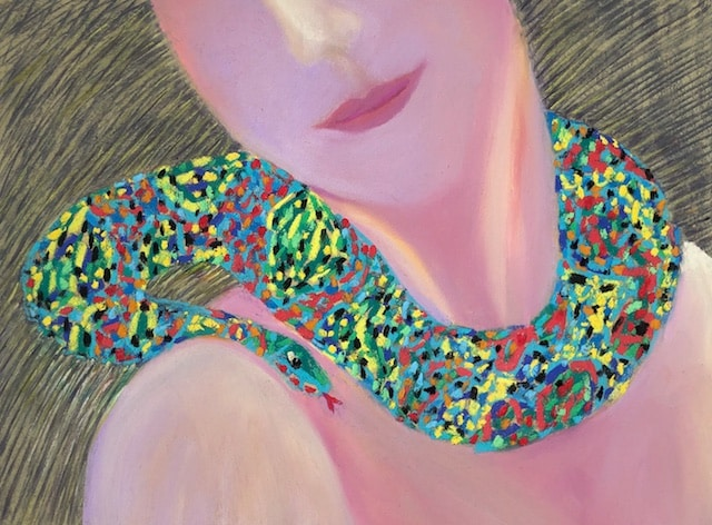 Beguiling Eve (pastel) by Polly Castor