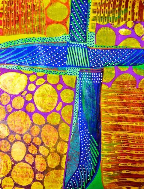 Cruciform paintings