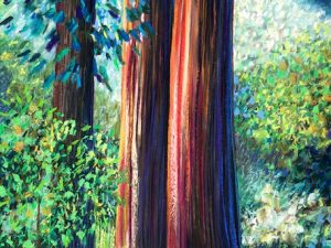 Old Growth (New Landscape/Conceptual Painting in Pastel)