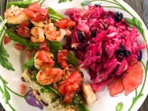Herbed Shrimp Bruschetta (Recipe)