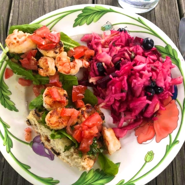 Herbed Shrimp Bruschetta Recipe