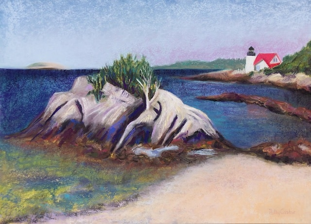 Hendrick's Head Lighthouse, by Polly Castor
