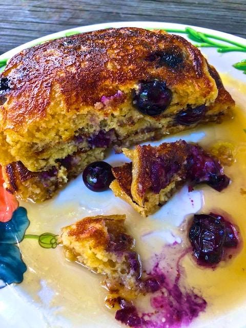 Multigrain Blueberry Pancake Recipe