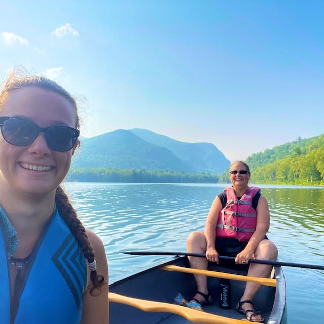 Canoe Day on South Branch Pond