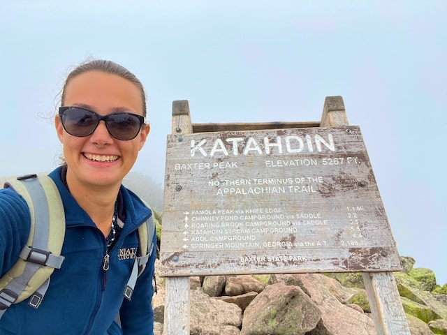Our Daughter Hiked Mount Katahdin