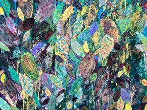 August Light (Third Artist-in-Residency Painting 2021)