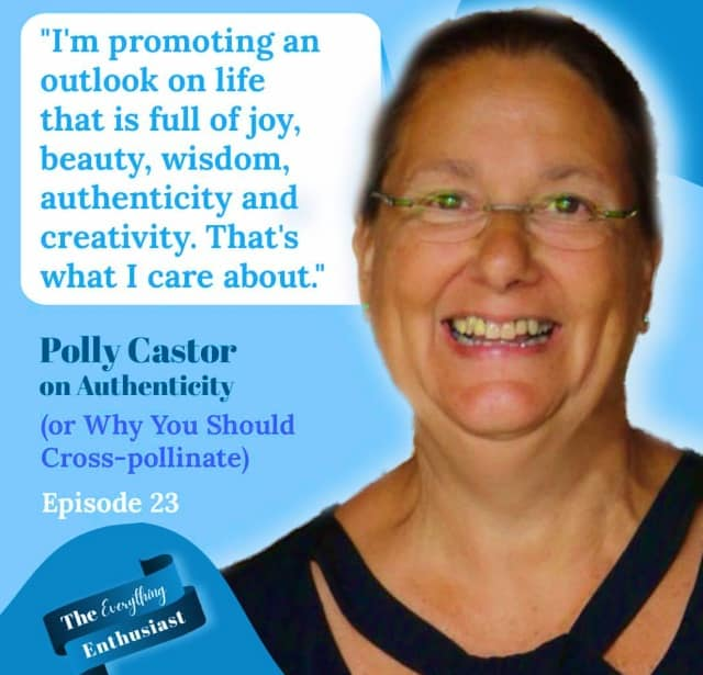 Polly Castor Interviewed on The Everything Enthusiast Podcast