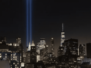 My Benediction for our 20th Anniversary 9/11 Memorial Service