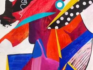 Eight Commissioned Colorful Abstractions