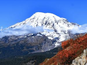 Mount Rainier's Still There (Poem and Photos by Karen Molenaar Terrell)